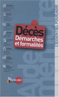 Décès : Démarches et formalités