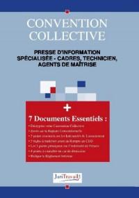 3290. Presse d'information specialisée - cadres, technicien, agents de maîtrise Convention collective