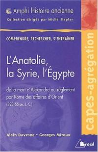L'Anatolie, la Syrie, l'Egypte : De la mort d'Alexandre au règlement par Rome des affaires d'Orient (323-55 avant J-C)