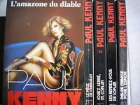 lot 5 titres paul kenny : pas de miracle pour l'espion - les rendez vous de coplan - jouez serré M. coplan - le piege de mandalay - l'amazone du diable