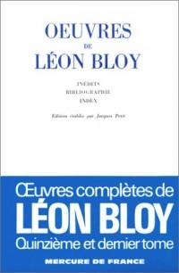 Oeuvres de Léon Bloy, tome XV