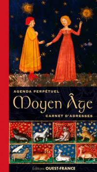 Agenda perpétuel et carnet d'adresses Moyen-Age
