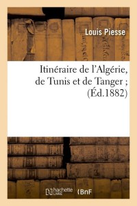 Itineraire de l Algérie  ed 1882