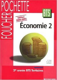 Economie 2002-2003 : BTS Tertiaires, 2nde année