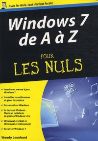 Windows 7 de A à Z