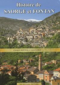 Histoire de Saorge et Fontan