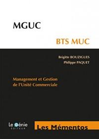 MGUC - BTS MUC: Management et Gestion de l'Unité Commerciale
