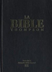 La Bible Thompson Nbs (Nouvelle Bible Segond) Avec Onglets