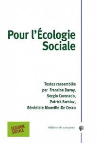 Pour l'écologie sociale