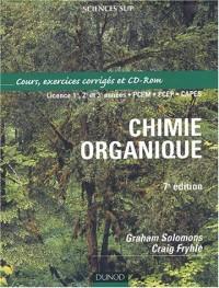 Chimie organique : Cours, exercices corrigés (avec 1 CD-Rom)