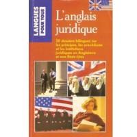 L Anglais Juridique