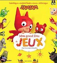 Mon grand livre de jeux Samsam