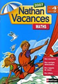 Mathématiques de la 4e vers la 3e