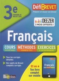 Defibrevet français brevet troisième