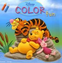 Disney Color Fun Winnie l'Oursonx3