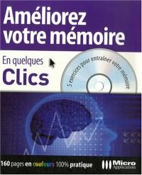 Améliorer votre mémoire en quelques clics : 5 exercices pour entraîner votre mémoire (1Cédérom)