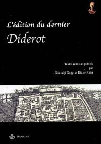 L'édition du dernier Diderot