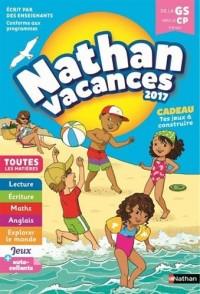 Nathan Vacances 2017 - De la Grande Section vers le CP - Cahier de vacances