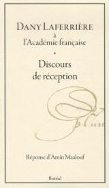 Dany Laferrière à l'Académie française : Discours de réception