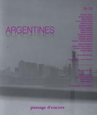 Argentines passage d'encres n38 - 39