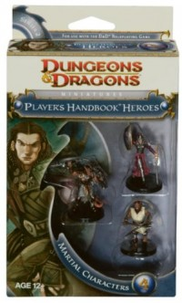 Wizards of the Coast DUNGEONS & DRAGONS Miniatures - Player's Handbook Heroes Series 2 - Pack Martial characters 4