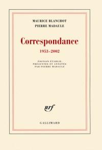Correspondance: (1953-2002)