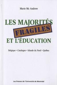 Les majorités fragiles et l'éducation : Belgique, Catalogne, Irlande du Nord, Québec