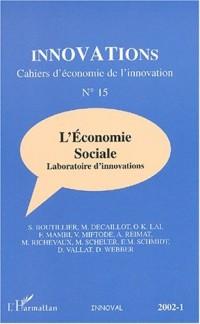 Innovations cahiers d'économie n.15 2002-1 : l'économie sociale laboratoire