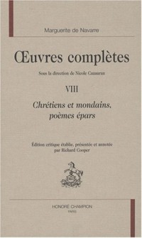 Oeuvres complètes, Tome 8