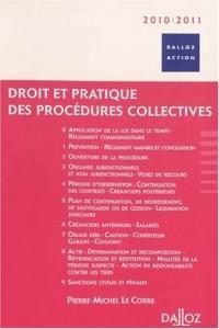 Droit et pratique des procédures collectives