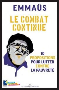 Le combat continue : 10 propositions pour lutter contre la pauvreté