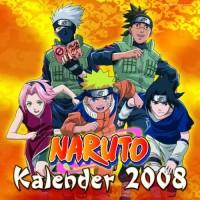 Calendrier 2008 - Calendrier Naruto 2008
