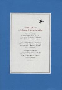 Perdus/Trouvés, Anthologie de littérature oubliée