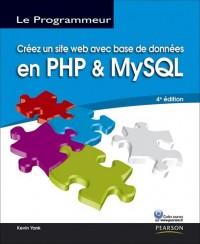 Creez un site web avec base de donnees en utilisant PHP et MySQL
