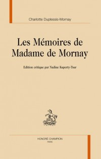 Mémoires de Madame de Mornay