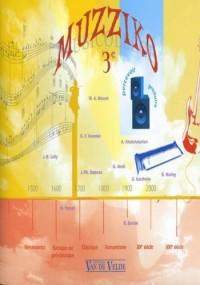 Muzziko 3ème (+ 1 cd)