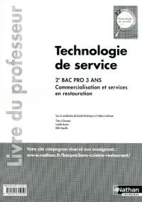 Technologie de Service 2e Bac Pro Restaurant Livre Professeur 2011