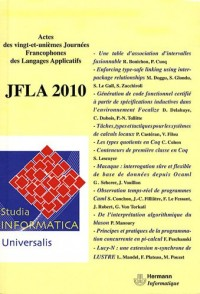 JFLA 2010 : Studia Informatica Universalis