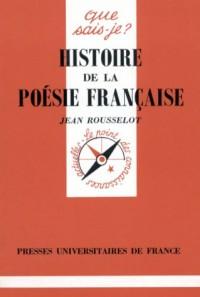 Histoire de la poésie française