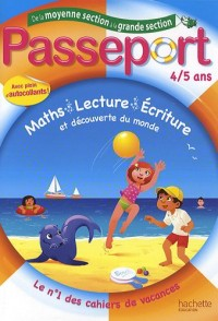 Passeport, de la moyenne à la grande section : 4-5 ans