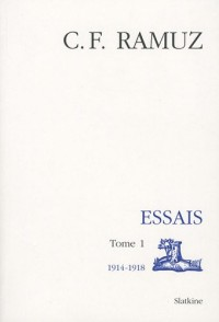 Oeuvres Completes Vol 15. Essais Ti. 1914-1918