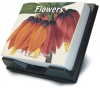 The Flowers Boxed Calendar (en anglais)