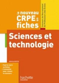 Le nouveau CRPE Sciences et technologie