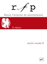 Revue française de psychanalyse - N  1