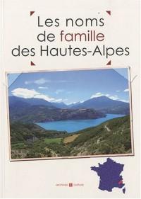Les noms de famille des Hautes-Alpes