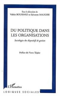 Du politique dans les organisations
