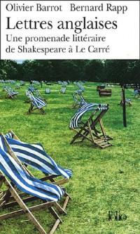 Lettres anglaises: Une promenade littéraire de Shakespeare à Le Carré