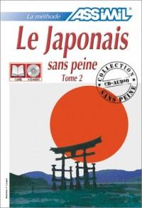 Le Japonais sans peine, tome 2 (1 livre + coffret de 4 CD)