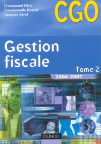 Gestion fiscale : Tome 2, Manuel