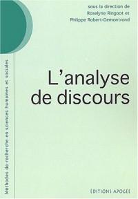 L'Analyse de discours